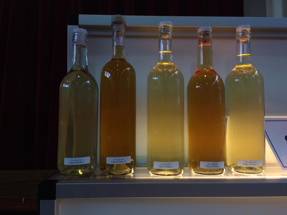 Mead made with Honey